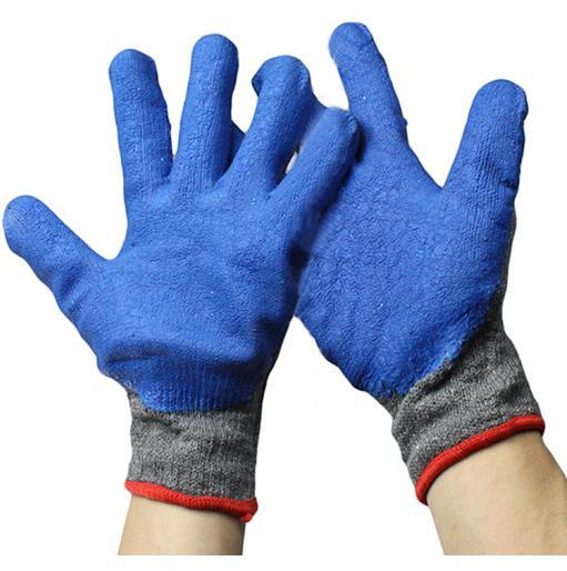 蓝胶手套 男