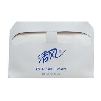 清风一次性马桶垫纸孕妇厕板纸坐垫纸坐便纸马桶套250张